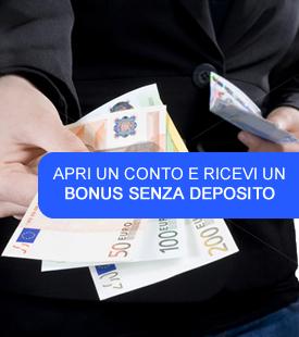 Bonus senza deposito forex trading